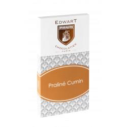 Tablette Edwart Praliné Cumin